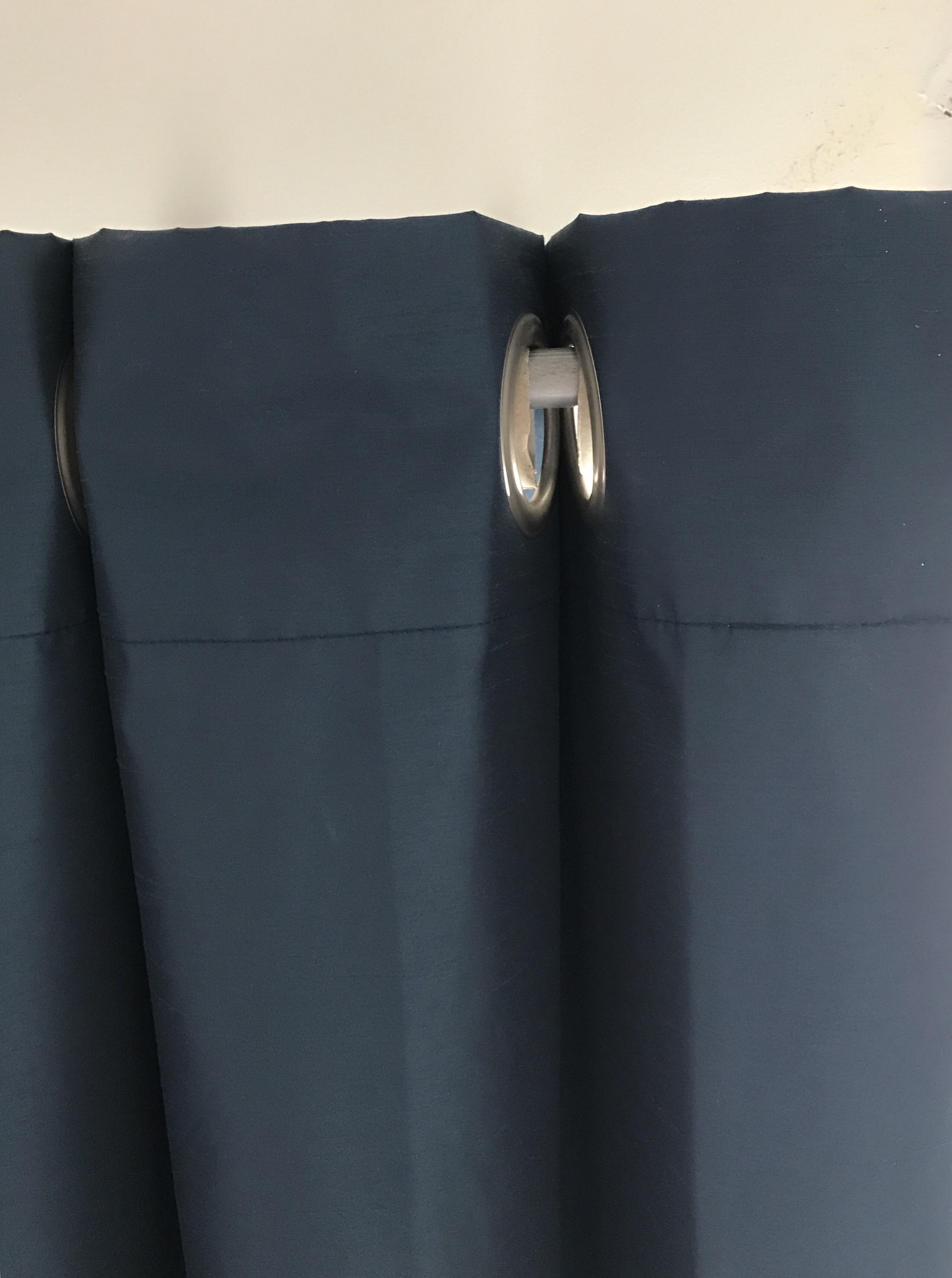 Curtain pleat hack